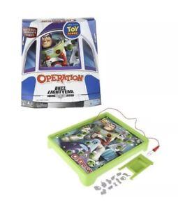Buzz Lightyear Operation Board Game by Hasbro toys Disney pixar toy story