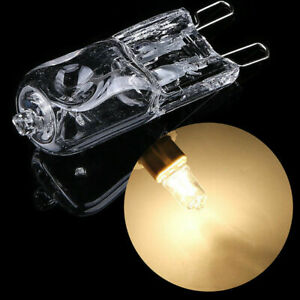 10-x-G9-Halogen-Light-Bulbs-Clear-220V-40W-Watts-Dimmable