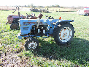 hinomoto e 180 diesel garden tractor for rebuilding or will sell rh ebay com Hinomoto E154 Parts Hinomoto E154 Parts