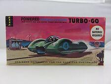 Hawk TURBO-GO POWERED BONNEVILLE RACER Scale Plastic Model Kit 603 BUILT 1961