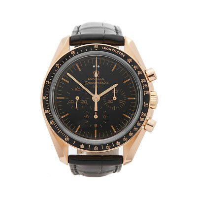 OMEGA SPEEDMASTER CHRONOGRAPH 18K ROSE GOLD WATCH 31163425001001 42MM COM1274