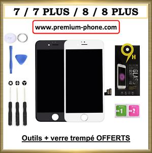 ECRAN-LCD-PREMIUM-VITRE-TACTILE-IPHONE-7-7-PLUS-8-8P-NOIR-BLANC-SUR-CHASSIS