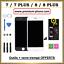 miniature 1 - ECRAN-LCD-PREMIUM-VITRE-TACTILE-IPHONE-7-7-PLUS-8-8P-NOIR-BLANC-SUR-CHASSIS