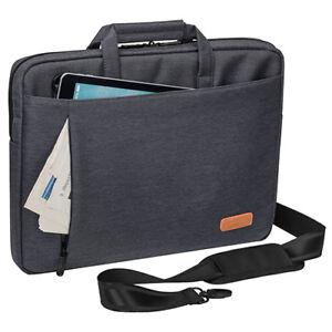 Laptoptasche Umhänge Schulter Tasche für Notebook bis 17,3 Zoll und Tablet Fach