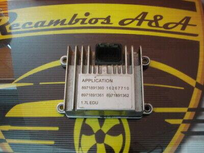 16267710 8971891363 Opel Astra Corsa 1.7L Isuzu DELPHI DELCO  Motorsteuergerät