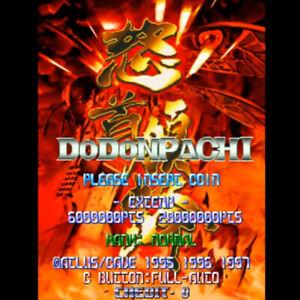 DODONPACHI-GAME-PCB-P-C-BOARD-JAPAN-USED-CAVE-ATLUS-RARE-SHOOTING-JAMMA-F-S