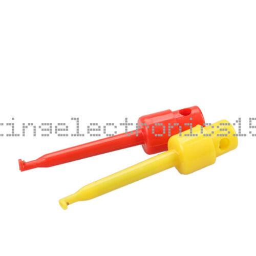 5pcs Large Size Round Single Hook Clip Test Probe for Electronic Testing