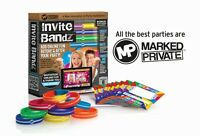 Invite Bandz Party For 8 Invitation Package Teenage Birthday Sweet 16 Graduation