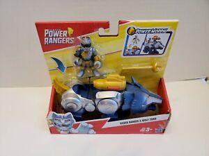 Power Rangers Plata Ranger & Lobo Zord Playskool Heroes