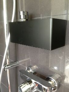 dusche bad wc ablage duschregal seifen shampoo regal ohne. Black Bedroom Furniture Sets. Home Design Ideas