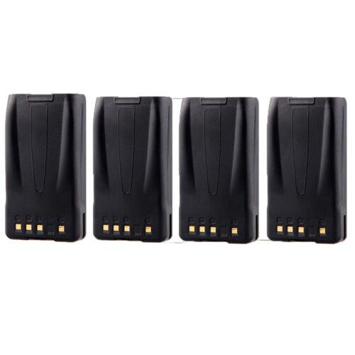 4X 2000mAh KNB-24 KNB-35 Li-Ion Battery for KENWOOD TK-3140 TK-2160 TK-3160