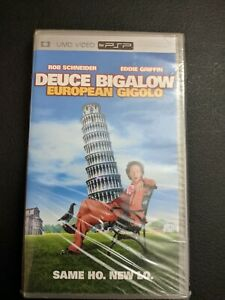 Deuce Bigalow European Gigolo PLAYSTATION Portable Psp UMD Film Neuf Scellé