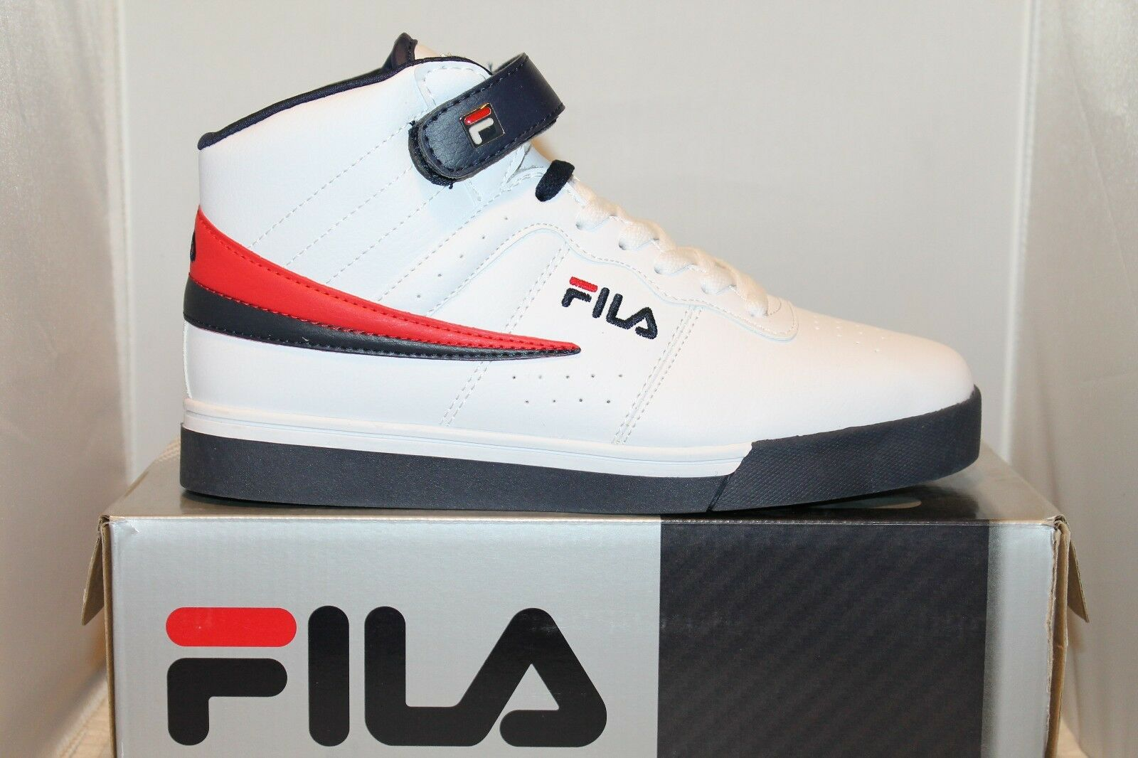 d4f18078fddd Mens FILA Vulc 13 Mid Plus Leather High Top Size 11 for sale online ...