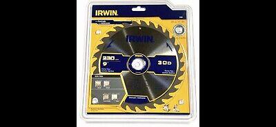 "Irwin 16/"" Carbide Tipped Beam Saw Blade 40 Teeth 30mm 25mm 20mm Arbors 15195"