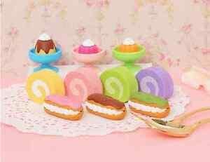 IWAKO Japanese Food Eraser Rubbers IWAKO Dessert Erasers Party Bag Filler