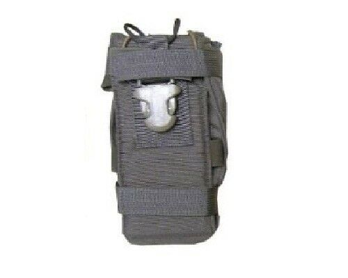Eagle MOLLE 500D MBITR Hinged Front Radio Pouch Ranger green
