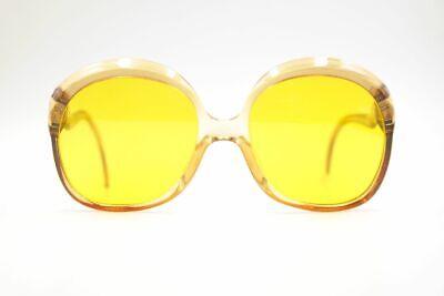 Brioso Vintage Marwitz 3076 Customized Lenses 54 [] 18 Giallo Ovale Occhiali Da Sole Nos-mostra Il Titolo Originale Elegante E Grazioso