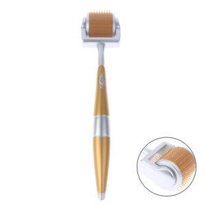 Luxury-Titanium-Derma-Roller-Micro-Needle-Beauty-Wrinkles-Scars-Acne-192-Nee-QA