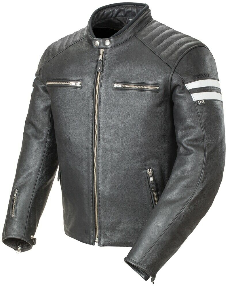Clic 92 Leather Jacket Black