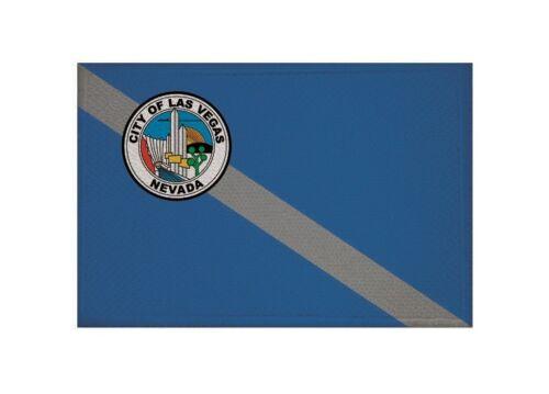 Ricamate Las Vegas bandiera bandiera aufbügler Patch 9 x 6 cm
