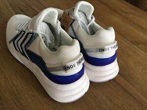 Hummel alcance LX 3000 Entrenadores Hombre Zapatos Blanco Uk Size 8 Mens