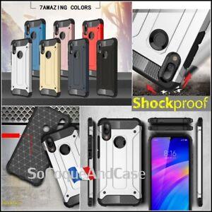 Etui-Coque-housse-Antichoc-Shockproof-Hybride-Case-Xiaomi-Redmi-7-Note-7-Films