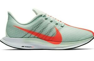 the best attitude 7487e e6a92 Details about Nike Zoom Pegasus 35 Turbo Wolf Grey Hot Punch OG Men Running  Shoes AJ4114-060