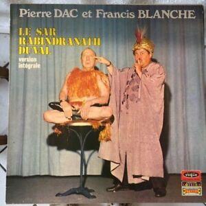 33 tours PIERRE DAC ET FRANCIS BLANCHE - LE SAR BABINDRANATH DUVAL    VB10