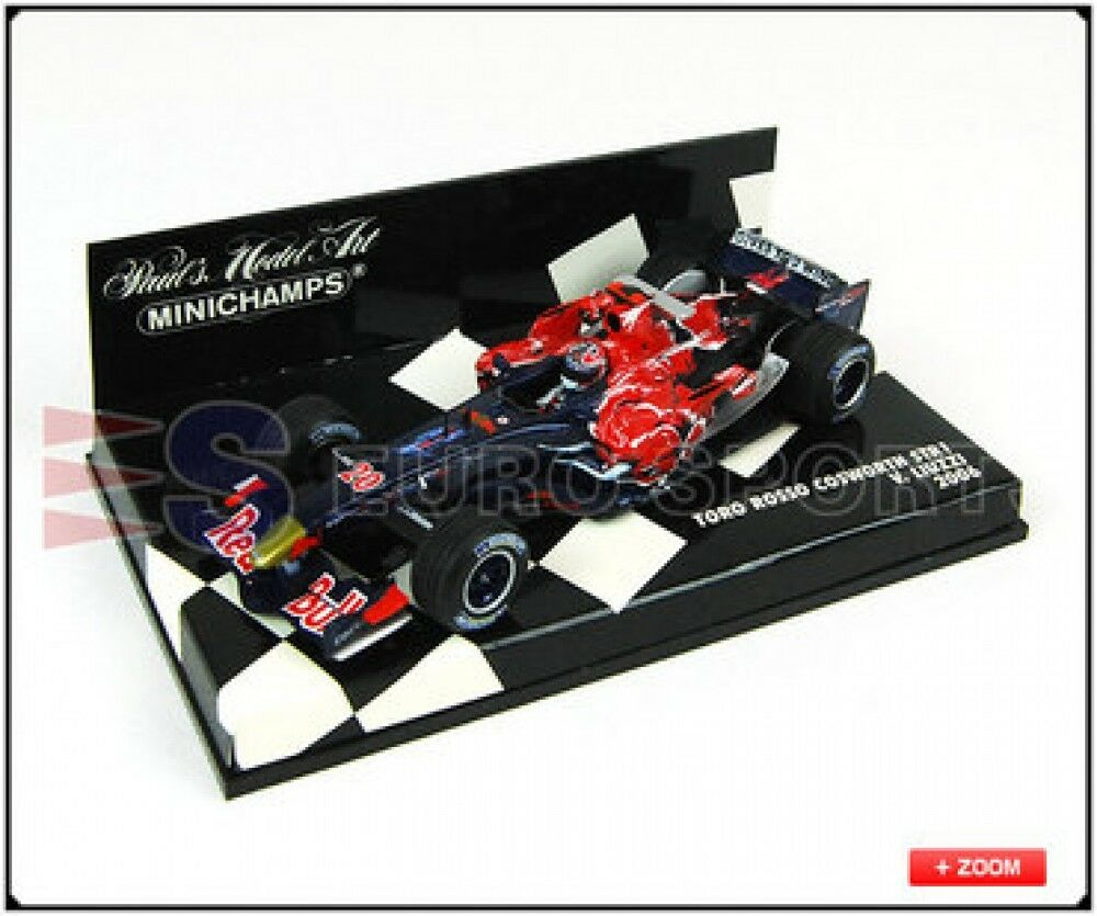 New PMA 1 43 Tgold red Cosworth STR 1 V. Liuzzi 2006 Model car Rally Japan
