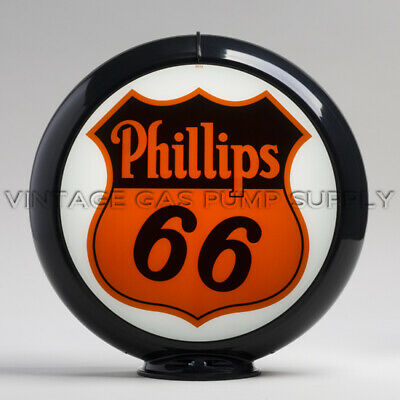 "G159 Phillips 66 13.5/"" Gas Pump Globe w// Orange Plastic Body"
