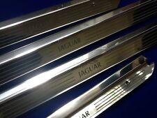 Jaguar XJ6 SWB  Door Sills Tread Plates Stainless steel Etched Logo