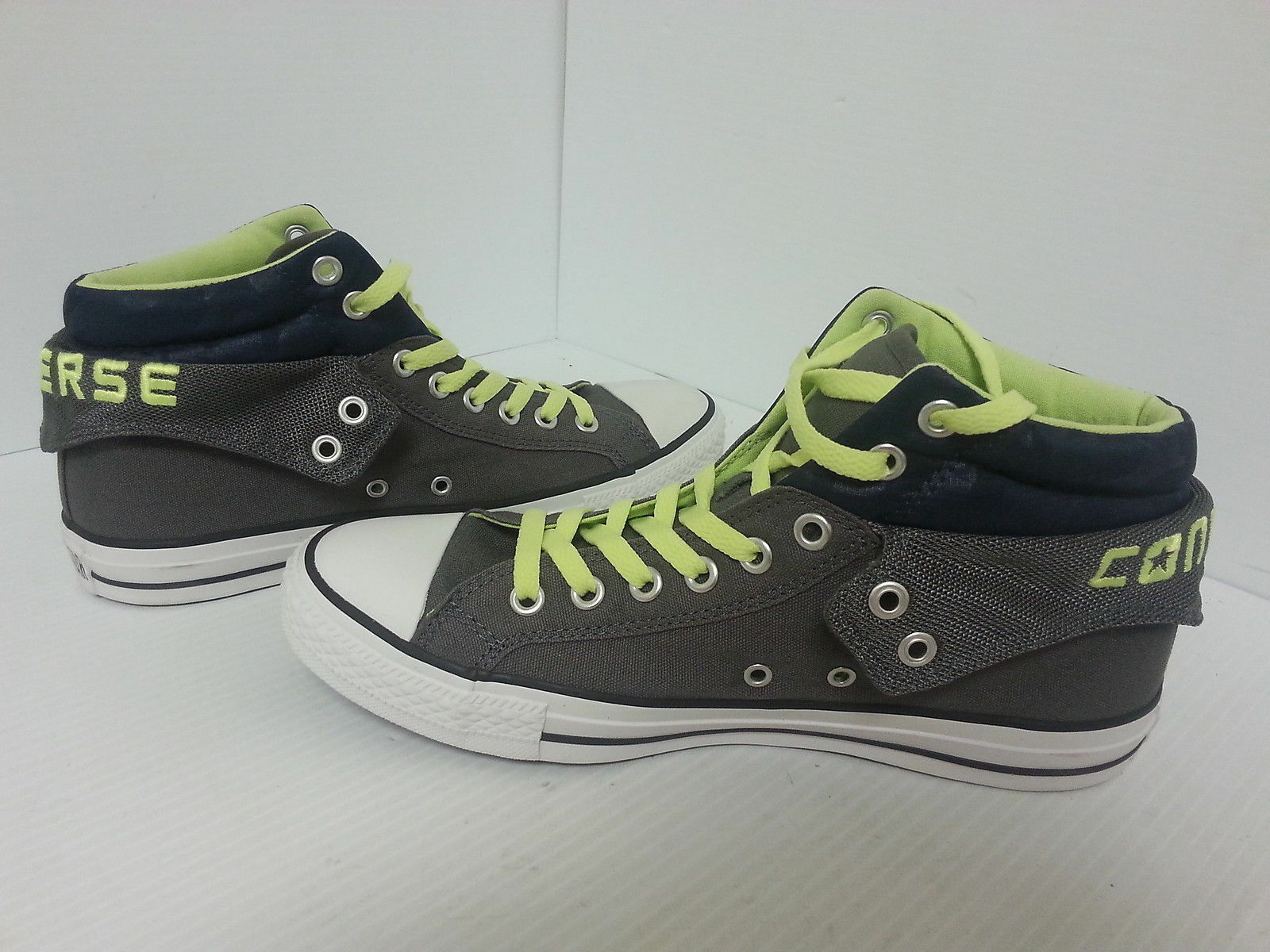 CONVERSE ALL STAR CHUCK TAYLOR Hommes Chaussures anthracite vert  39639 F Taille 10 NEUF