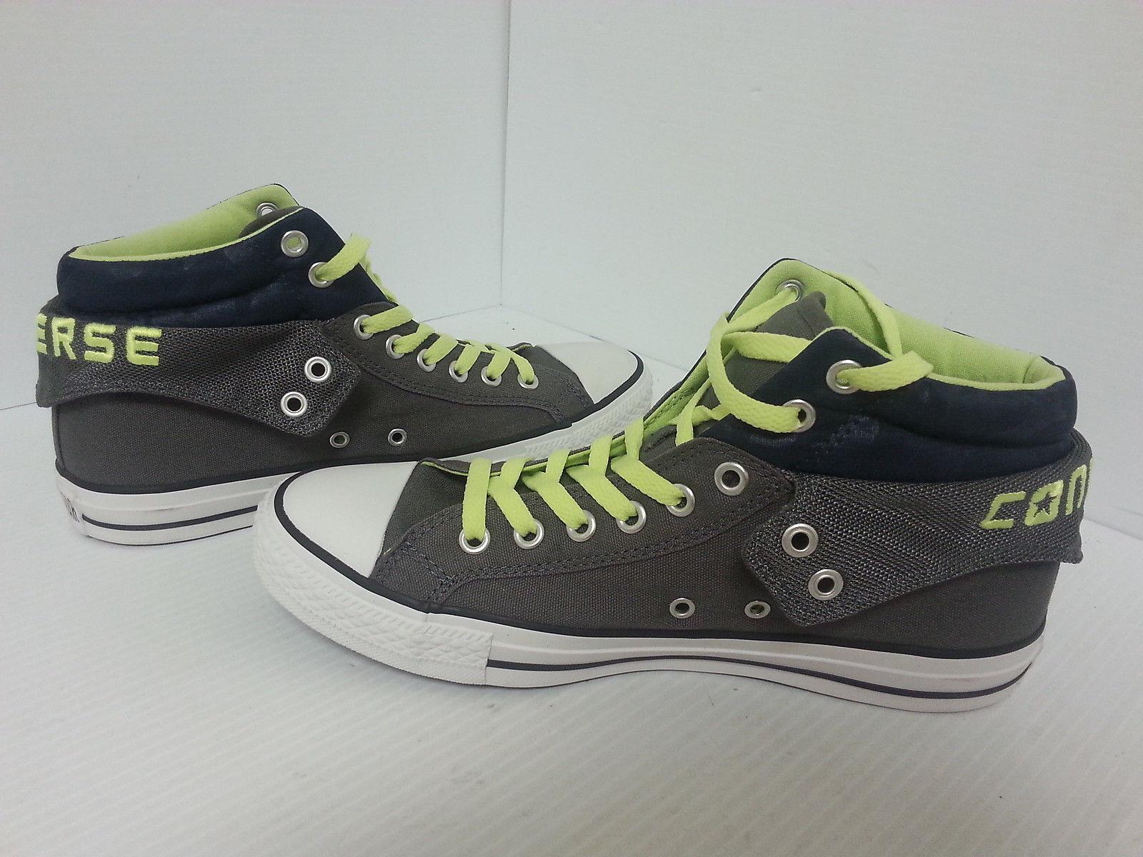 CONVERSE ALL  STAR CHUCK TAYLOR Hombres Zapatos  ALL Carbón/Verde 139639F Nuevo 8ba050