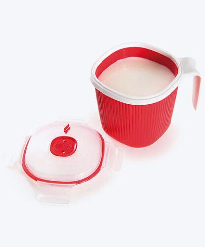 Lait et soupe chauffe 0.7 L-Mug Warmer Cisaille à micro-ondes Thé