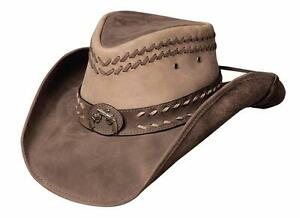 92051062b29 Image is loading NEW-Montecarlo-Bullhide-HIDEOUT-Top-Grain-LEATHER-Outback-