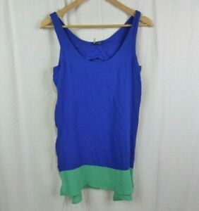 SPARKLE-amp-FADE-Urban-Outfitters-Women-039-s-Colorblock-Sleeveless-Dress-Size-Medium