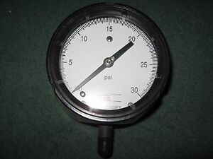 Ashcroft-45-1279AS-2L-Pressure-Gauge-30-psi-5-inch-Used-Qty-1