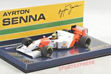 NEW 1/43 Minichamps 540934308 McLaren Ford MP4-8, Ayrton Senna 1993, #8