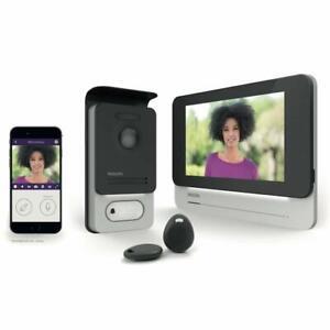 Philips-WelcomeEye-Connect-531002-Video-Tuersprechanlage-2-Draht-1-Familienhaus