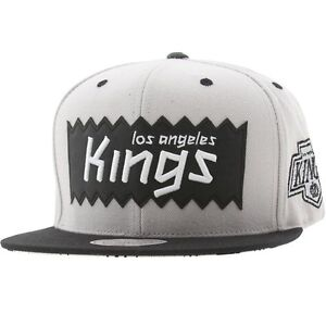 6e9f03afb562ec BAIT x NHL x Mitchell And Ness Los Angeles Kings STA3 Wool Snapback ...