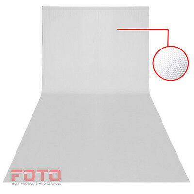 Photo Studio White Background Backdrop 3 x 6m Screen Photography 10ft x 20ft UK