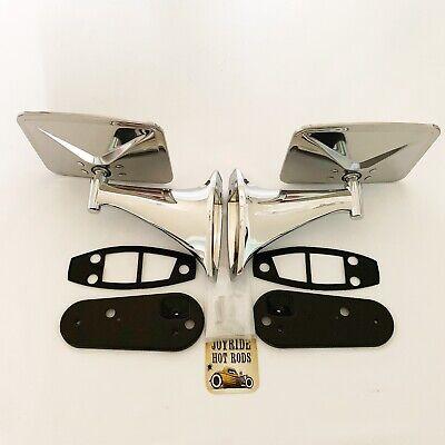 Pair of Chrome SS  Side View Mirrors 1967-1972 Chevrolet GMC Trucks