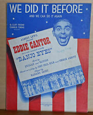 """We Did It Before And We Can Do It Again - from """"Banjo Eyes"""" - 1941 sheet music"""