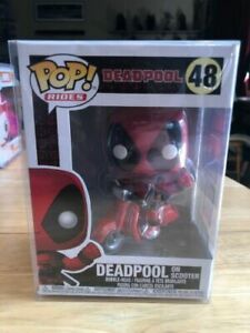 Marvel Deadpool sur scooter Bobblehead POP Rides Vinyl Figure