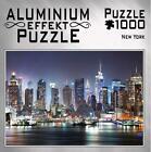 Aluminium Effekt Puzzle Motiv: New York 1.000 Teile (2020, Game)