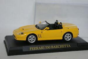 Ixo-Presse-1-43-Ferrari-550-Barchetta-Jaune
