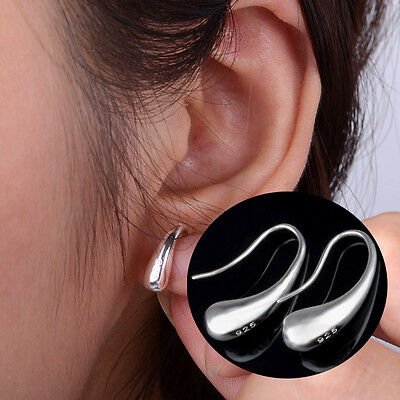 New Fashion Jewelry teardrop hook Silver Plated hoop earrings Hot Sale