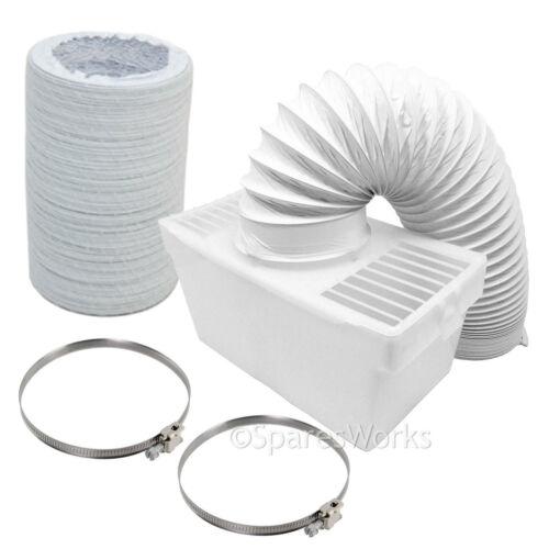 Condensateur Tuyau 100cm Boîte Avec Extra Long Tuyau /& clips pour Sèche-linge Hoover