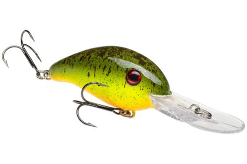 Strike King Crankbait HC3XD-565 Chartreuse Rootbeer Extra Profonde Lure
