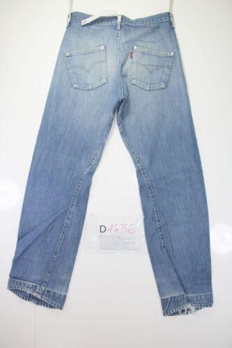 Tg W30 843 Jeans Engineered Vintage D1436 Levis Usato cod Denim L34 44 UHIT4x